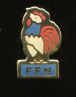 Pin's - Coq FFN Fédération Française De Natation - Swimming