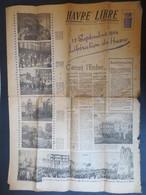 Le Havre - Journal De La Libération - Havre Libre N° 282  Du 12 Septembre 1945 - - Havre Libre