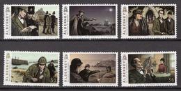 2009 - ALDERNEY - Mi. Nr. 363-368 - NH - (UP207.33) - Alderney