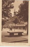 CPA - MONTBÉLIARD - LA PLACE - LES HALLES - LA PIERRE A POISSONS - 1888 - BRAUN - Montbéliard