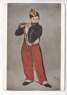 Edouard Manet, Le Fifre, The Fifer, Unused Postcard [22673] - Paintings