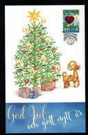 Aland 2018 Christmas Weihnacten Noel Natale Maximum Card 1v FDC VFU - Aland