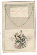CPA - Carte Postale - Belgique - Bonne Année Avec Un Couple -1910 S4736 - Nouvel An
