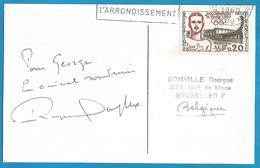 (A942) - Signature / Dédicace / Autographe Original - Raymond SOUPLEX - Acteur - Autographes