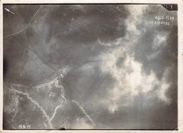 Photo Aérienne Aviation Allemande Tranchèes  Ww1 1914 1918 Première Guerre Mondiale - Guerra, Militari