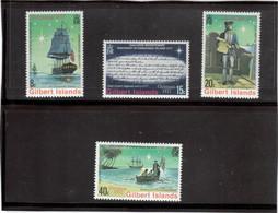 B 15 - Gilbert Islands 48/51 **MNH De 1977 - JAMES COOK - RESOLUTION Et DISCOVERY à CHRISTMAS ISLAND - Timbres