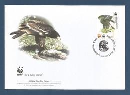 Georgien / Georgian 2007 Mi.Nr. 529 , Greater Spotted-Eagle-Schelladler-WWF Official First Day Cover Georgian 11.07.2007 - Georgien