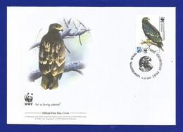 Georgien / Georgian 2007 Mi.Nr. 528 , Greater Spotted-Eagle-Schelladler-WWF Official First Day Cover Georgian 11.07.2007 - Georgien
