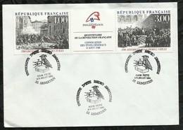 UNIVERSITE D'ETE . RADIO AMATEURS . HAM FÊTE . 08 / 09 JUILLET 1989 . SAMATAN . - France
