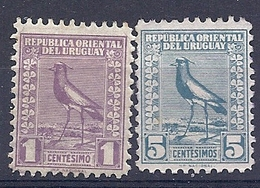 180030820   URUGUAY YVERT  Nº   325/8  */MH   (WITH AND WITHOUT  GUM) - Uruguay
