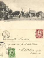 Haiti, PETIT-GOÂVE, Street Scene (1905) Postcard - Haïti