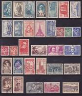1939  Complète Neufs * & Oblit. -Voir Verso & Descriptif - France
