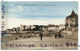 - 53 - PARAME ROCHEBONNE - La Plage A Marée Basse, Non écrite, épaisse, Rare En Couleur, TTBE, Scans. - Other Municipalities