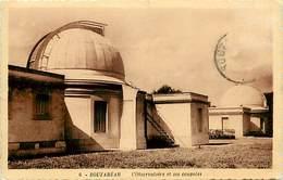 -ref-B292- Astronomie - Observatoire - Bouzareah - Observatoires - Algerie  - Carte Bon Etat - - Astronomy