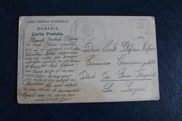 191.     CACHET  MILITAIRE  SUR  CARTE  POSTALE   D  '    AZUGA      3  PHOTOS - Poststempel (Marcophilie)