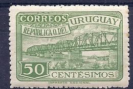 180030829    URUGUAY YVERT  Nº   592  */MH - Uruguay