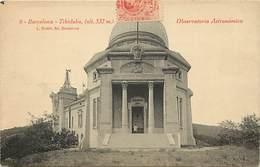 -ref-B291- Astronomie - Observatoire - Barcelone -  Tibidabo- Observatoires - Espagne - Carte Bon Etat - - Astronomie