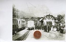 Carte Postale  Photo Inden...... Gare ... Loèche - VS Valais