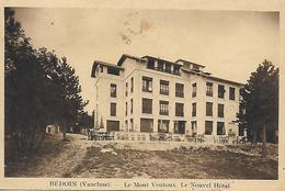 84)  BEDOIN  - Le Mont Ventoux  - Le Nouvel Hotel - France