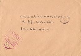 France 1976 - Aviso Escorteur Balny - Marine Nationale - Toulon Naval - Poste Navale