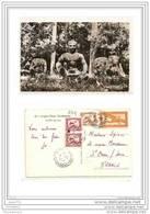 4023 COMBODGE AK /PC/ CARTE PHOTO CAMBODGE ANGKOR THOM LE ROI LEPREUX/1951 - Cambogia