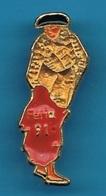 PIN'S //   ** FERIA 91 ** - Tauromachie - Corrida