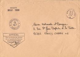 France 1976 - Frégate Duguay-Trouin -  Marine Nationale - Brest Naval - Poste Navale