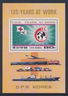 Korea North 1988 B 231 (=Mi 2901) SG N2753 ** 125th Ann. Int. Red Cross - Transport / Int. Rotes Kreuz - Transportmittel - Transportmiddelen
