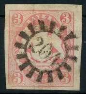 WAPPEN-AUSGABE 1867-1868 Nr 15 GMR 204 Zentrisch Gestempelt X8803FA - Bavière