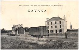 29 SIZUN - La Gare Des Chemins De Fer Armoricains - Sizun