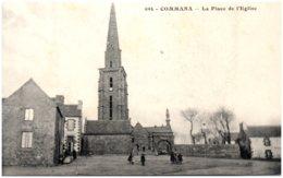 29 COMMANA - La Place De L'Eglise - Autres Communes