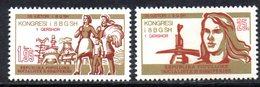 XP3960 - ALBANIA 1978 , Yvert Serie N. 1770/1771  ***  Unione Donne - Albania