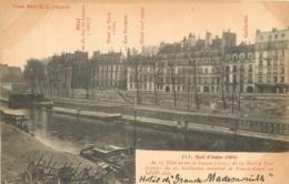 75 - VIEUX PARIS BC - Quai D'Anjou - France