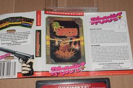 K7 Dragon Skulle Commodore 64 /128 Anglais + Notice Non Tester - Commodore