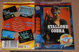 K7 Stallone Cobra Commodore 64 /128 Anglais Italien + Notice Non Tester - Commodore