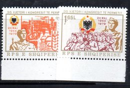 XP3966 - ALBANIA 1979 , Yvert Serie N. 1817/1818  ***  Permet - Albanien