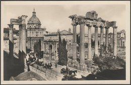 Parte Del Foro Romano Con Nuovi Scavi, Roma, C.1920s - Scrocchi Foto Cartolina - Roma (Rome)