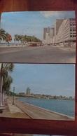 CPSM LUANDA ANGOLA Baie De Luanda Et Avenue Du 4 Février, Lot De 2 Cartes - Angola