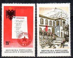 XP3968 - ALBANIA 1979 , Yvert Serie N. 1835/1836  ***  Congresso Antifascista - Albania