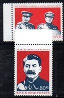 XP3969 - ALBANIA 1979 , Yvert Serie N. 1837/1838  ***  Stalin - Albania