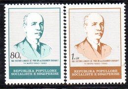 XP3970 - ALBANIA 1980 , Yvert Serie N. 1851/1852  ***  Xhuvanit - Albania