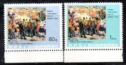 XP3971 - ALBANIA 1980 , Yvert Serie N. 1869/1870  *** - Albania
