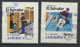 °°° EL SALVADOR - Y&T N°1324/25 - 1997 °°° - El Salvador