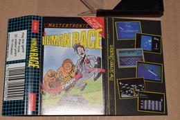 K7 Human Race Commodore 64 /128 Anglais + Notice Non Tester - Commodore
