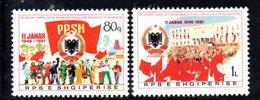 XP3973 - ALBANIA 1981 , Yvert Serie N. 1878/18797  *** Repubblica Popolare - Albania