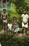Panama, DAIREN, Native Indian Family (1910s) J.L. Maduro Postcard - Panama