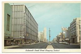 VA - Virginia  RICHMOND 'S BROAD STREET SHOPPING DISTRICT - Richmond
