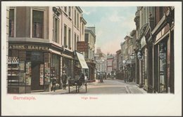 High Street, Barnstaple, Devon, C.1905 - Peacock Postcard - England