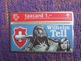 L&gyr Phonecard,Wilhelm Tell,mint - Schweiz