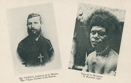 Oleggio Monseigneur Verjus Born And Dead In Oleggio  New Guinea Mission Canaques  Sacré Coeur Issoudun - Italie